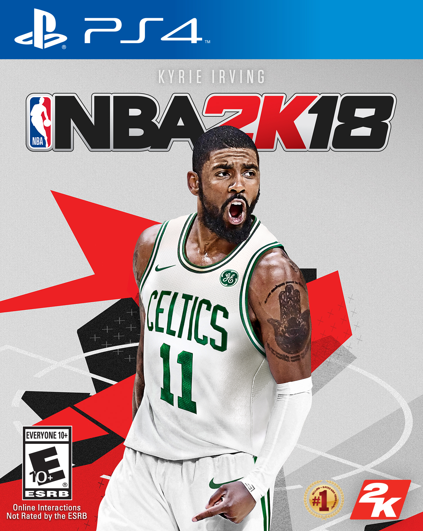 NBA 2K18, 2K, PlayStation 4, 710425479076 by Take-Two Interactive Software Inc