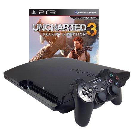Refurbished Sony PlayStation 3 PS3 320GB Uncharted 3 Bundle (Uncharted Ps3 Bundle)