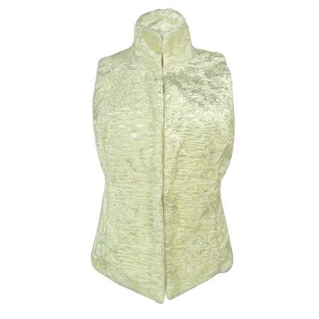 Reversible Quilted Vest - Ralph Lauren Women's Quilted Faux Fur Reversible Vest