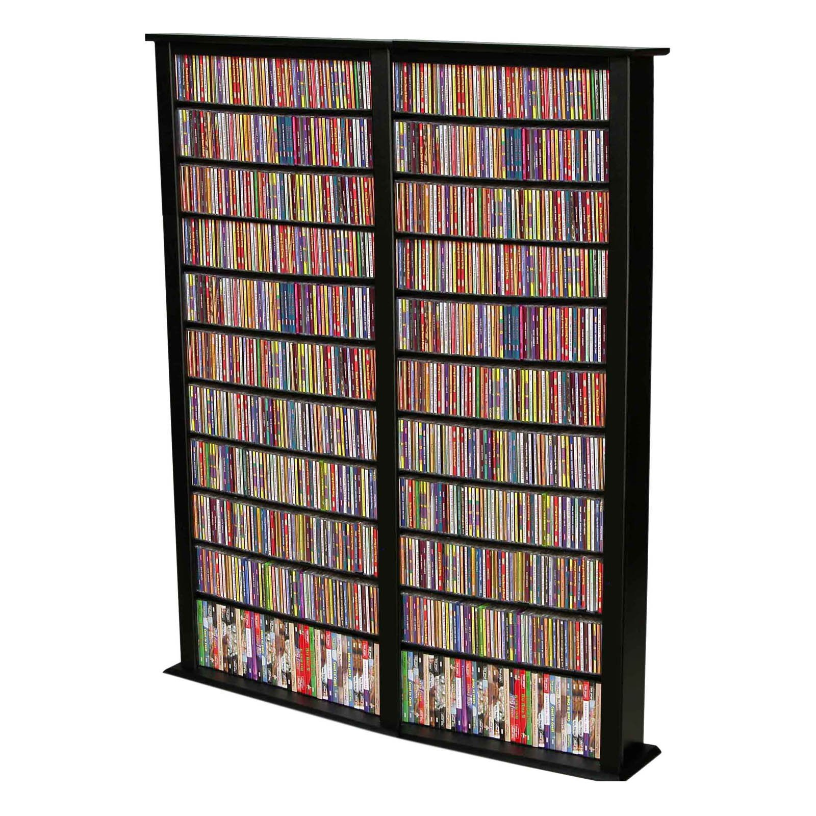Venture Horizon Media Storage Tower-Tall Double