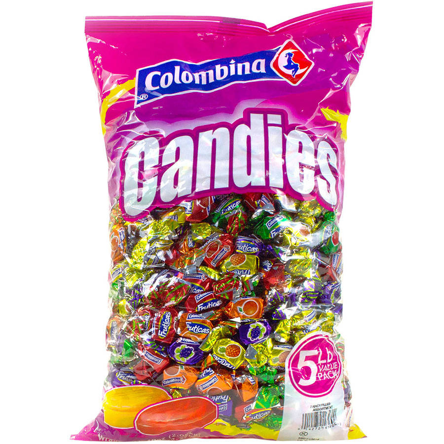 Colombina Fancy Filled Hard Candy Assortment, 5 lbs
