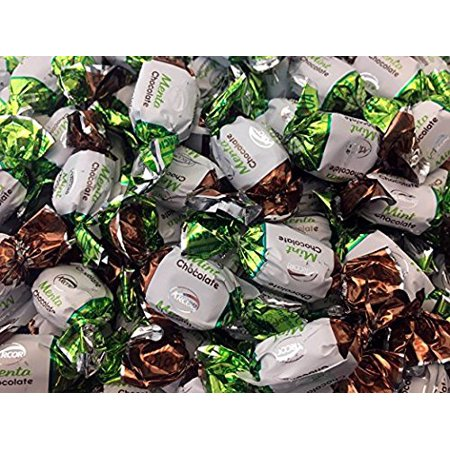 Arcor Hard Candy Cocoa Flavored Mints (Pack of 2 -