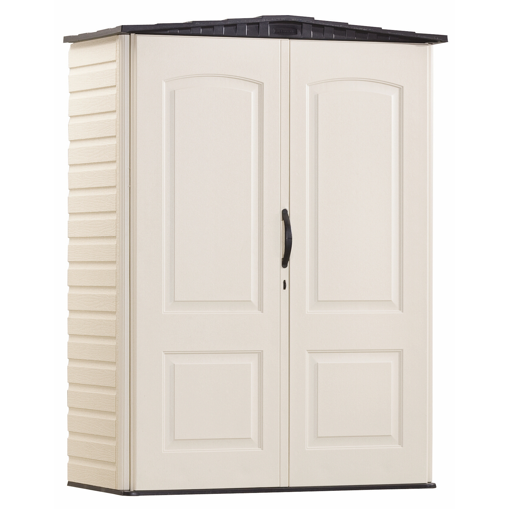 Rubbermaid FG5L1000SDONX 4.3' W X 2' D X 6' H Small Vertical Shed