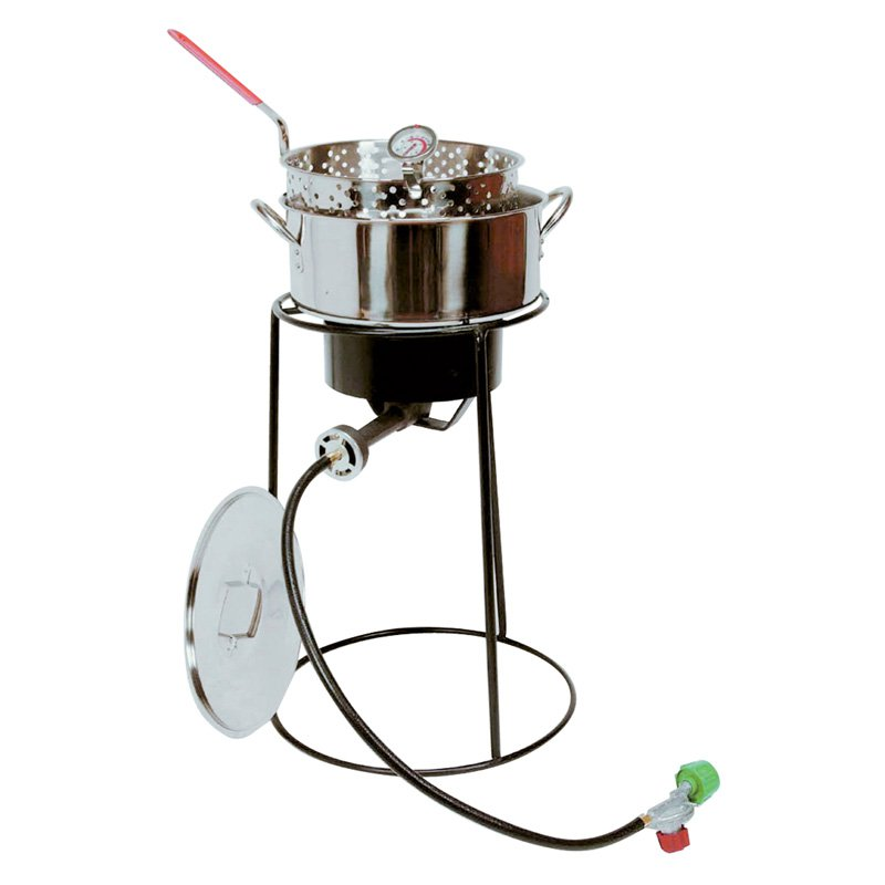 King Kooker 22 in. Fish Fryer with Stainless Steel Pot