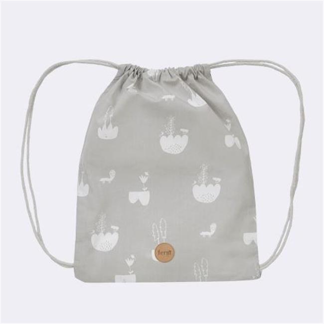 Ferm Living KIDS 8122 Landscape Gym Bag - 28 x 36 cm.