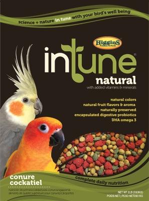 Higgins intone Conure and Cockatiel Bird Food, 2 lb by HIGGINS PREMIUM PET FOODS