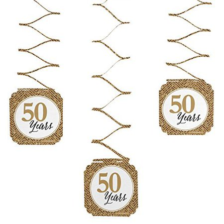 We Still Do - 50th Wedding Anniversary Party Hanging Decorations - 6 Count