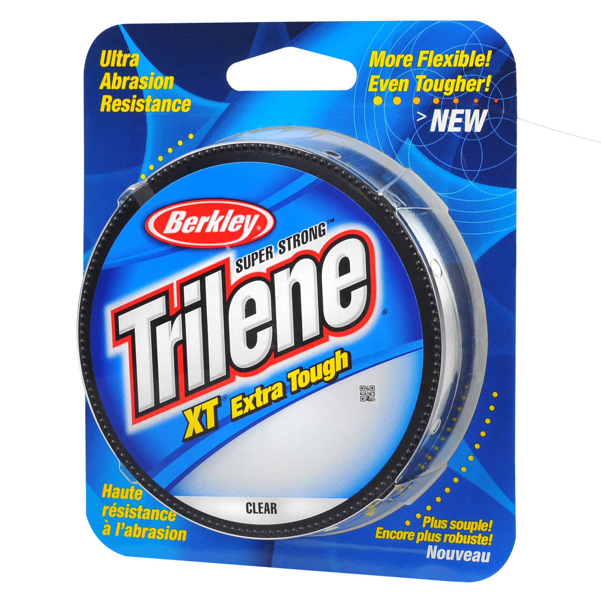 "Berkley Trilene XT Monofilament Line Spool 330 Yards, 0.008"" Diameter, 4 lb Breaking Strength, Clear"