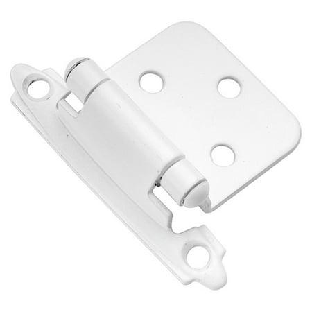 Brass Surface Self Closing Hinge - Hickory Hardware Surface Self-Closing Flush Hinge - Set of 2