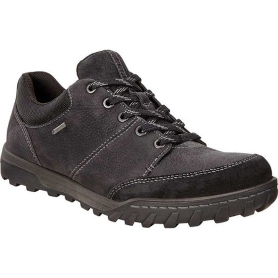 4f775f5802 Men's ECCO Urban Ely GORE-TEX Hiking Shoe Black Cow Suede 41 M