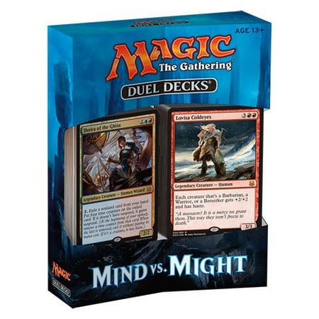 Magic The Gathering Mind vs Might Duel Decks