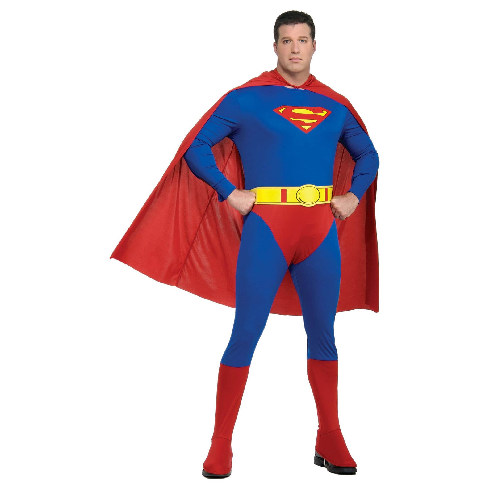 Adult Superman Plus Size Halloween Costume