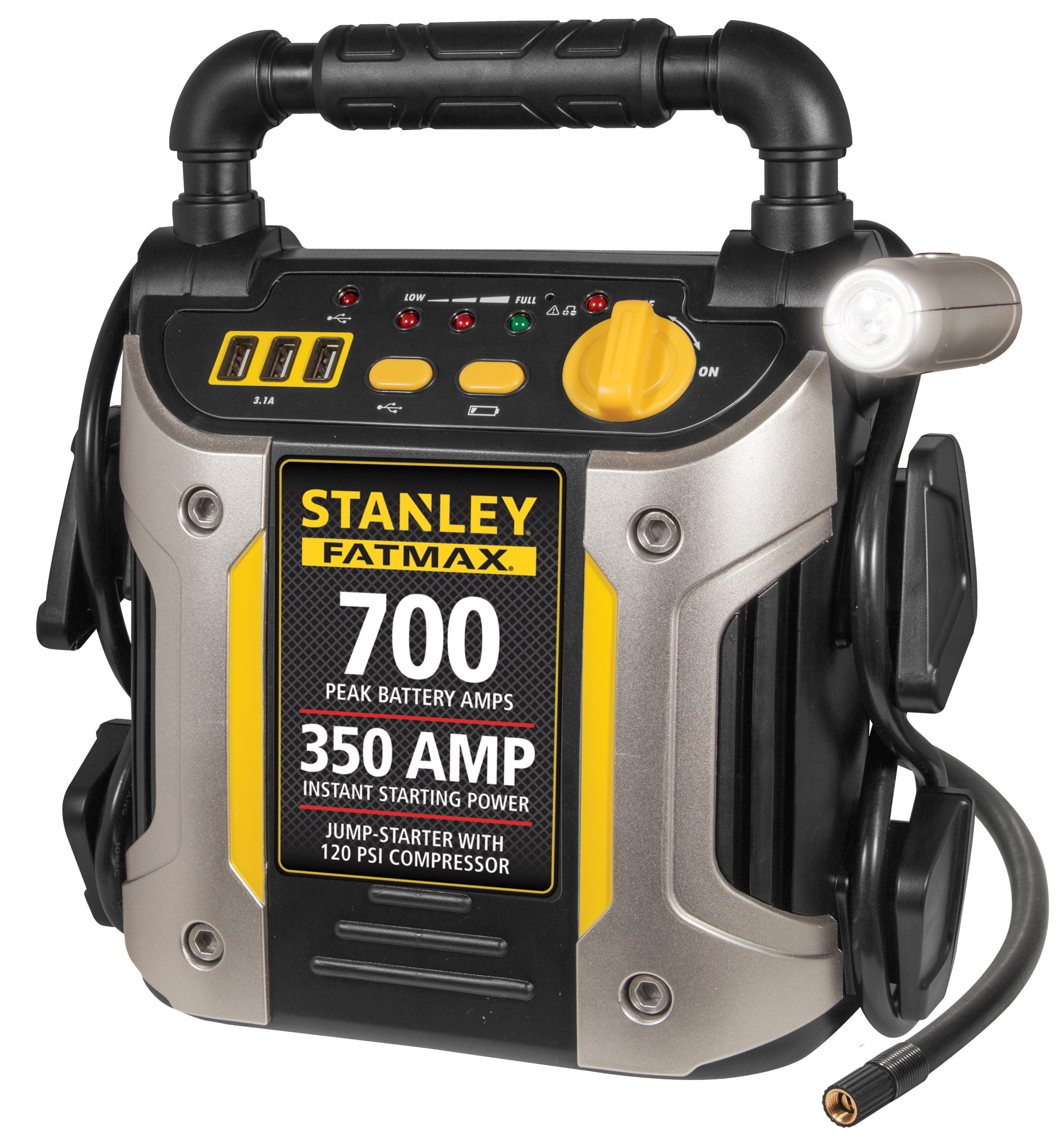 Stanley 'FatMax' 700-Amp Peak Jump Starter with Compressor #J7CS