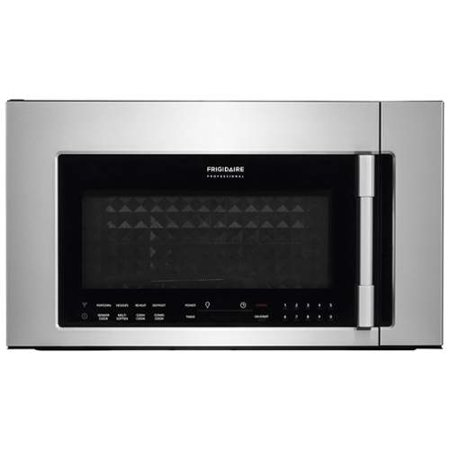 Frigidaire Fpbm3077r 30 Inch Wide 1 8 Cu Ft Over The Range Microwave With Conv