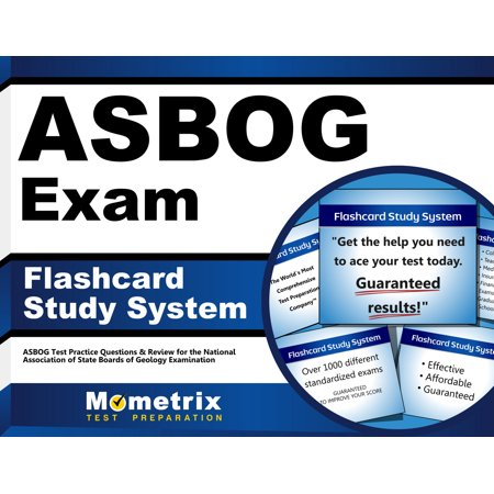 Asbog Exam Flashcard Study System  Asbog Test Practice Questions   Review For The National Association Of State Boards Of Geology Examination  Cards  By Asbog Exam Secrets Test Prep Team