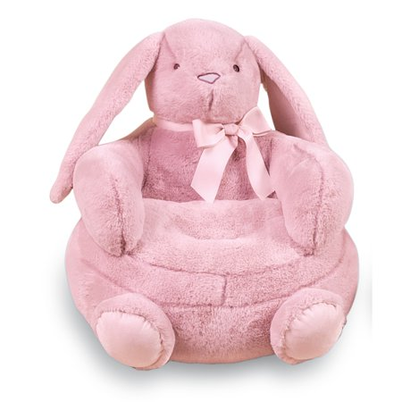 Adorable little bunny plush childrens chair easter gift for adorable little bunny plush childrens chair easter gift for babies toddlers negle Choice Image