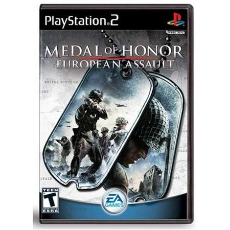Refurbished Medal Of Honor European Assault For PlayStation 2