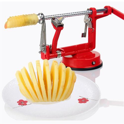 3 in 1 Apple Slinky Machine Peeler Corer Fruit Cutter Slicer Useful Kitchen Tool Newest by