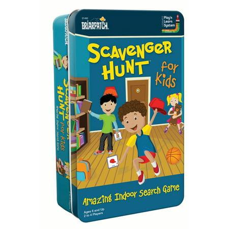 Halloween Scavenger Hunt Ideas Adults (Scavenger Hunt for Kids Tin)