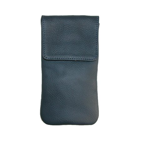 426cad0a14e CTM Leather Soft Eyeglass Case with Holster Clip - image 1 of 1 ...