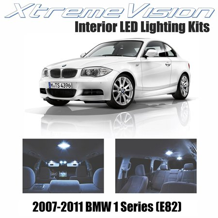 Xtremevision Led For Bmw 1 Series  E82  2007 2011  8 Pieces  Cool White Premium Interior Led Kit Package   Installation Tool