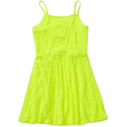 Faded Glory Girls' Lace Tank Dress