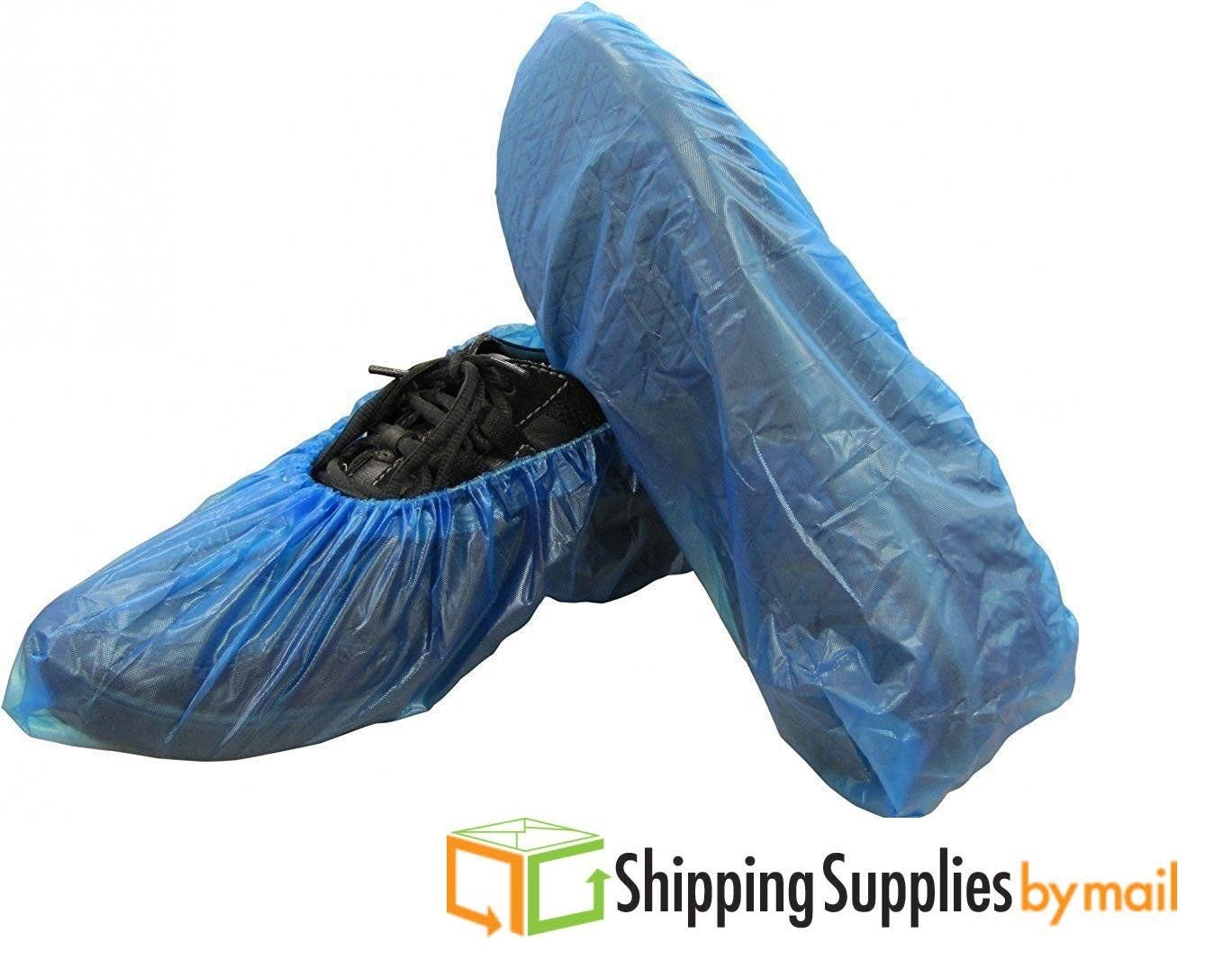 400PCS//Set Disposable Shoe Boots Covers Plastic Waterproof Overshoes Hot STOCK !