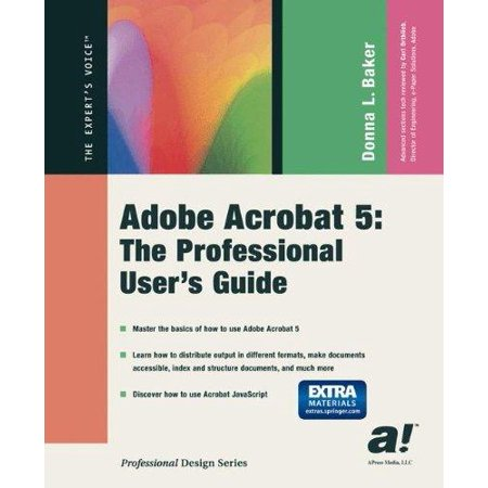 Adobe Acrobat 5  The Professional Users Guide