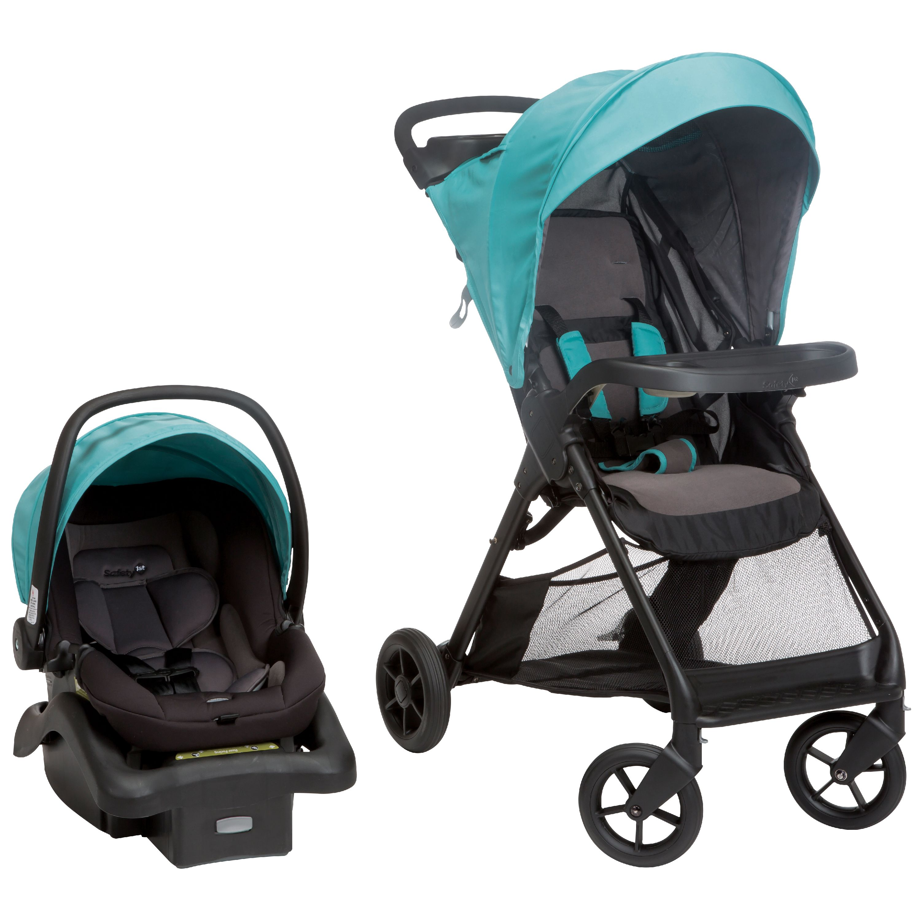 Safety 1ˢᵗ Smooth Ride Travel System, Waterfall