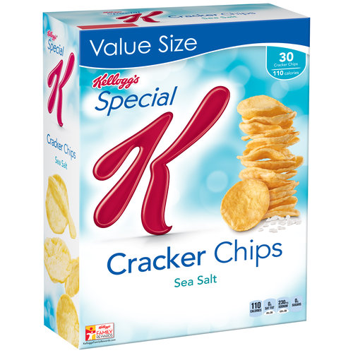 Kellogg's Special K Sea Salt Cracker Chips, 6 oz