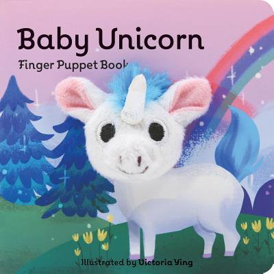 Baby Unicorn Finger Puppet Book (Board Book) - Billy The Puppet Dead Silence