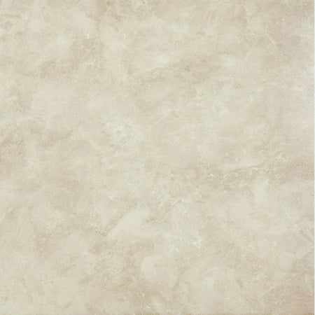 Faux Marble Flooring (Achim Nexus Carrera Marble 12x12 Self Adhesive Vinyl Floor Tile - 20 Tiles/20 sq. ft.)