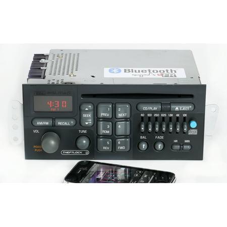 Pontiac Bonneville Grand Am 1996-2003 Radio AM FM CD w Bluetooth Music 09390772 - Refurbished