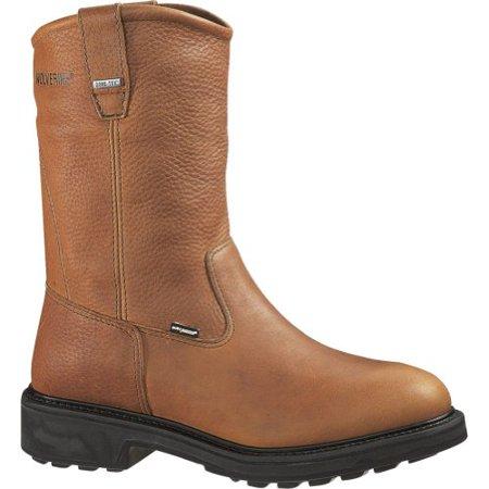 3fe4f259eec Wolverine Durashocks 2573 SR Gore-tex Safety Toe Wellington Boot - Brown -  13M