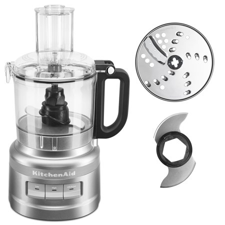 KitchenAid 7 Cup Contour Silver Food Processor ()