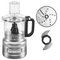 KitchenAid 7 Cup Contour Silver Food Processor