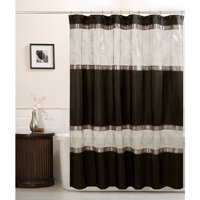 Product Image Maytex Marco Fabric Shower Curtain Black