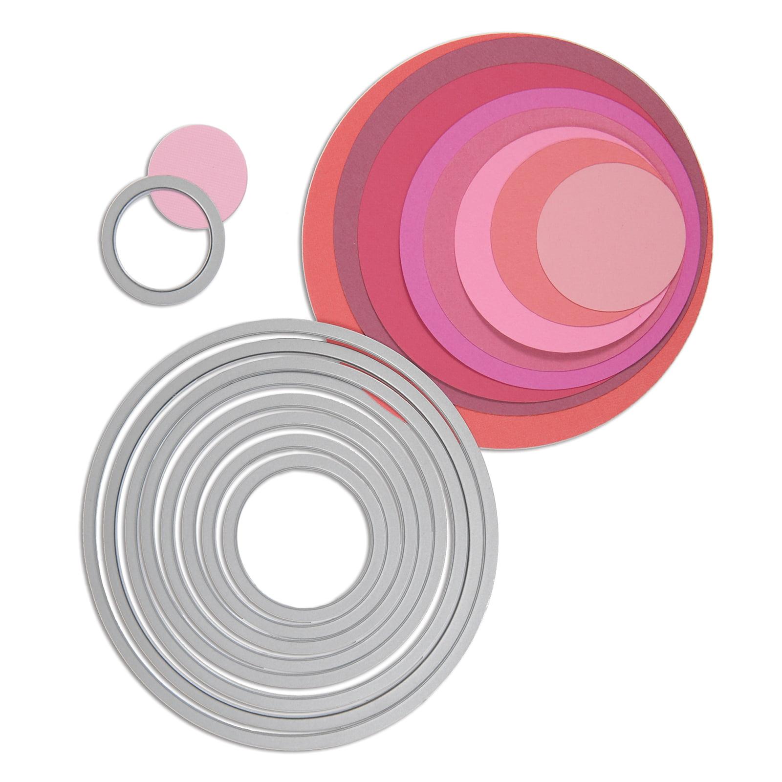 Sizzix Framelits Die Set - 8PK Circles