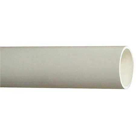 Schedule 40 Tubing - HARVEL H0400800PW1000 Pipe, Schedule 40, 8 In, 10 ft. Length, PVC