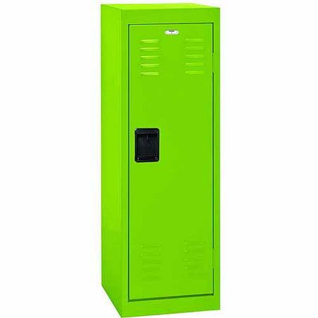 """48"""" Single Tier Steel Locker, Electric Green"""