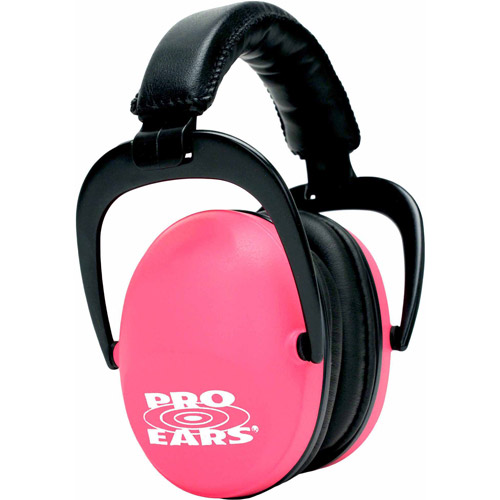 Pro Ears Standard Hearing Protection Ultra Sleek, NRR 26, Pink