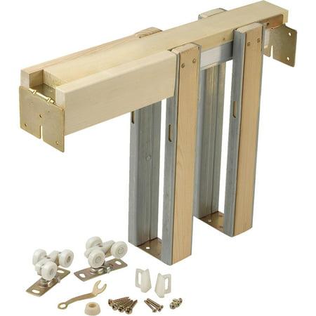 Chrome Pocket Door Hardware - Johnson Hardware Pocket Door Frame