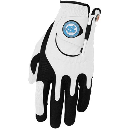 North Carolina Tar Heels Left Hand Golf Glove & Ball Marker Set - White - OSFM
