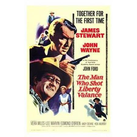 The Man Who Shot Liberty Valance Movie Poster  11 X 17