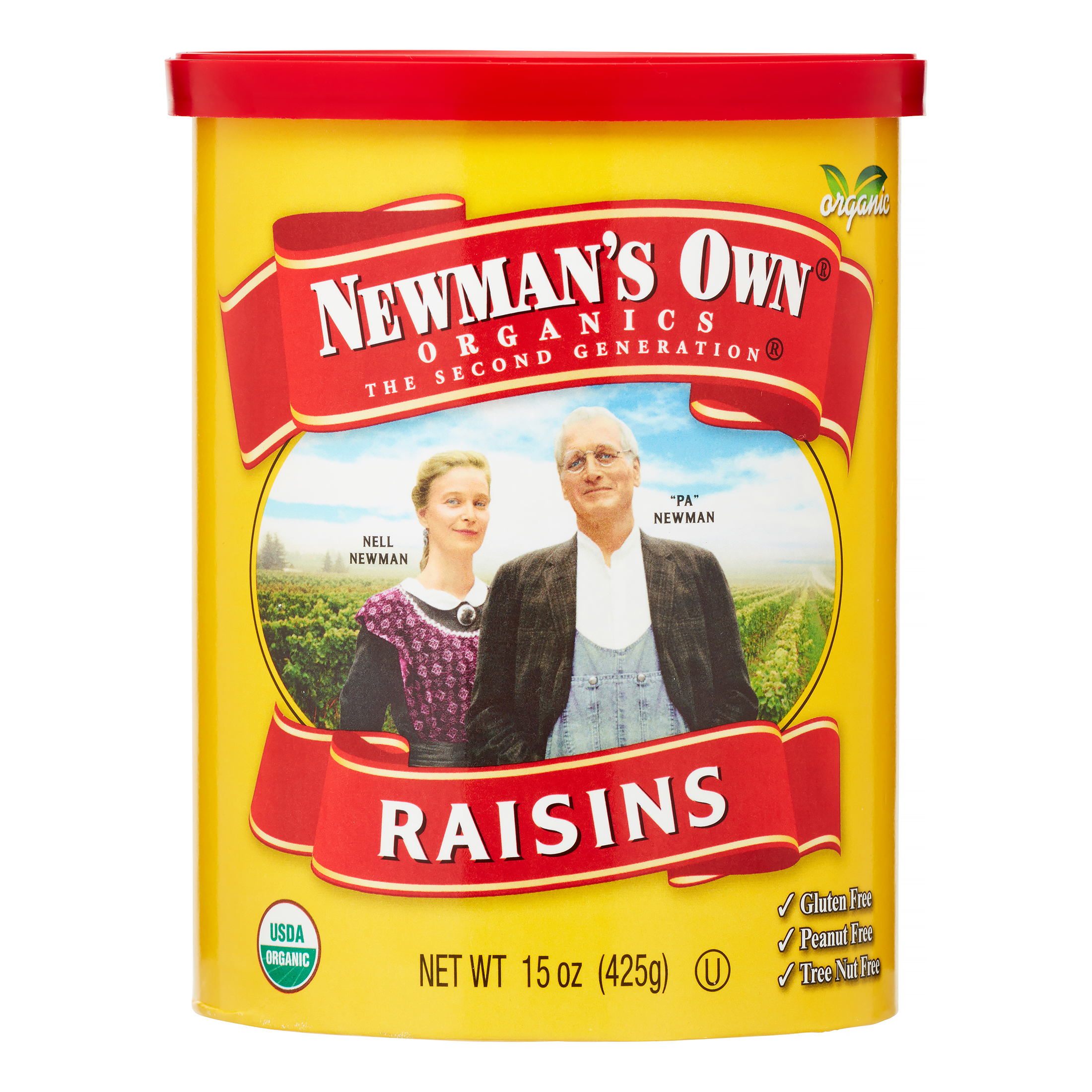 Newman's Own Organics California Raisins, 15 Oz, 1 Count