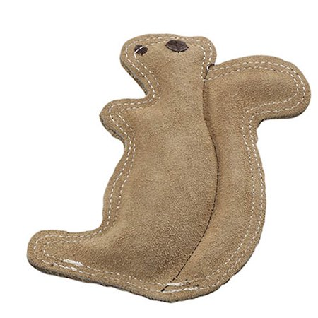 Ethical Products Inc Dura-fused Squirrel Leather Dog Toy, Small Crazy Critters Dog