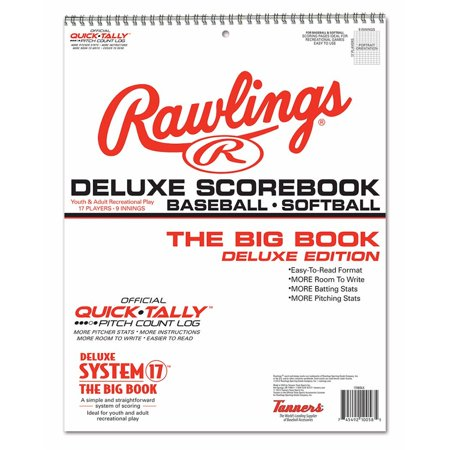 Rawlings Big Book Baseball - Official Scorebook
