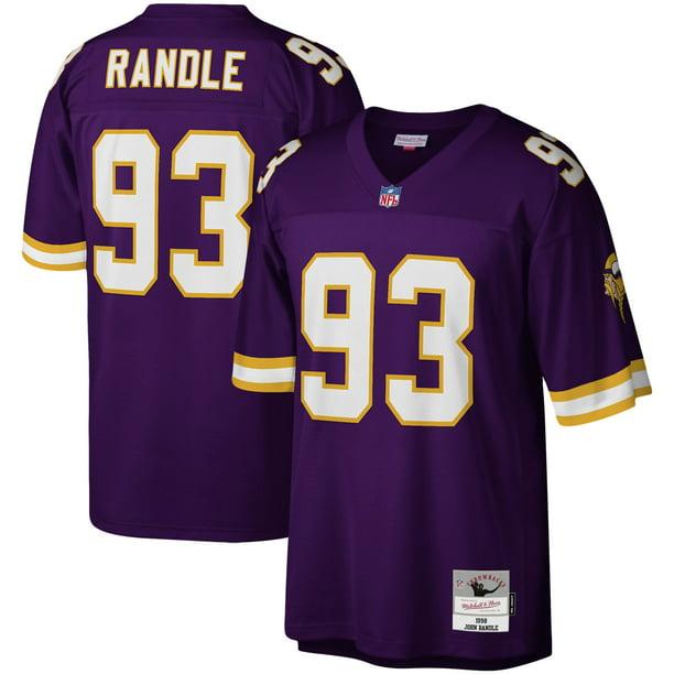 John Randle Minnesota Vikings Mitchell & Ness Legacy Replica Jersey - Purple