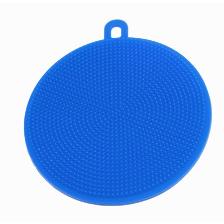Multi-purpose Safe Silicone Brush Cleaning Mat Pads Heat-Resistant Dish Washing Brush Cleaner Scrubber Kitchen Supplies