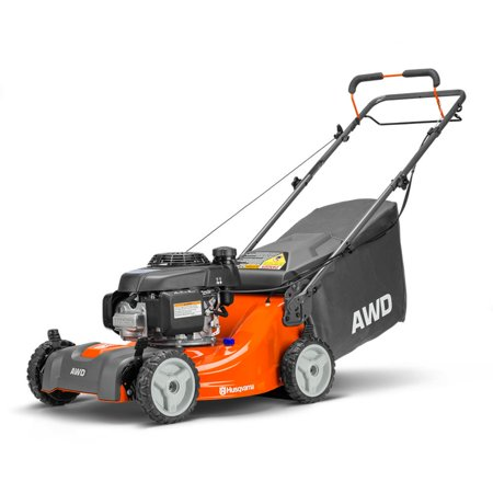 Husqvarna L221A Honda AWD Compact 21 Inch Self Propelled Walk Behind Lawn (Used Scag Walk Behind Mowers For Sale)